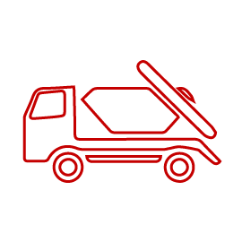 Red Skip Icon